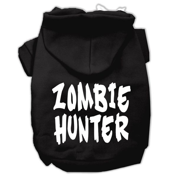 Dog Hoodies: ZOMBIE HUNTER Screened Print Dog Hoodie by Mirage Pet Products USA