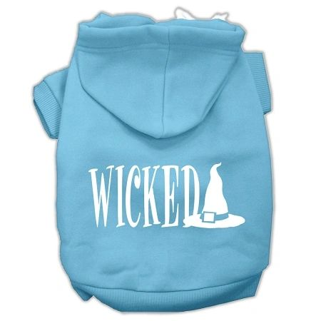 Dog Hoodies: WICKED Screened Print Dog Hoodie by Mirage Pet Products USA