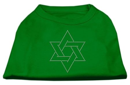 Dog Shirts: STAR OF DAVID Rhinestone Dog Shirt in Various Colors & Sizes by Mirage