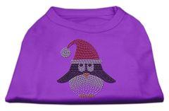 Dog Shirts: SANTA PENGUIN Rhinestone Dog Shirt in Various Colors & Sizes by Mirage
