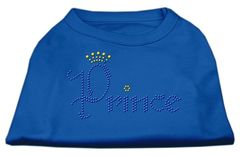 Dog Shirts: PRINCE Rhinestone Dog Shirt in Various Colors & Sizes by Mirage