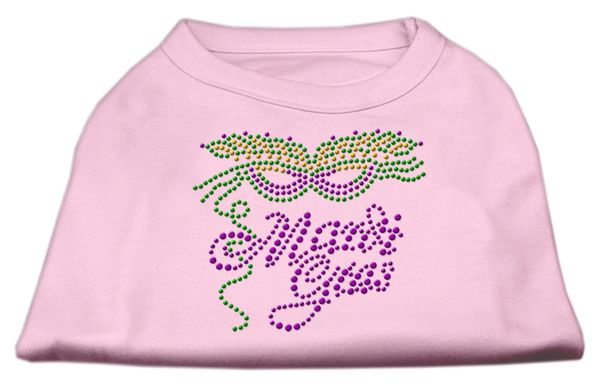 Dog Shirts: MARDI GRAS Rhinestone Dog Shirt in Various Colors & Sizes by Mirage