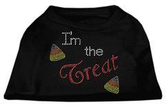 Dog Shirts: I'M THE TREAT Rhinestone Dog Shirt in Various Colors & Sizes by Mirage