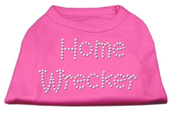 Dog Shirts: HOME WRECKER Rhinestone Dog Shirt in Various Colors & Sizes by Mirage