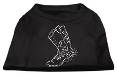 Dog Shirts: BOOT Rhinestone Dog Shirt in Various Colors & Sizes by Mirage