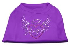 Dog Shirts: ANGEL HEART Rhinestone Dog Shirt in Various Colors & Sizes by Mirage