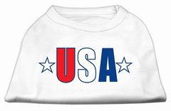 Dog Shirts: USA STAR Screen Print Dog Shirt in Various Colors & Sizes by Mirage