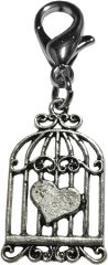 Pet Charms: Pewter Dangle Dog Charm for Dog Collars Several Different Designs by Mirage