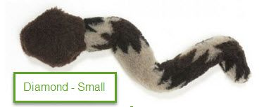 Plush Dog Toys: S-S-Stretch Cylindrical Snake Dog Toy with Squeaker