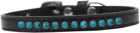 BLING DOG COLLARS: PREMIUM SOUTHWEST TURQUOISE PEARL PUPPY COLLAR in Various Colors and Sizes