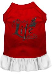 DOG DRESSES: Embroidered A PIRATE'S LIFE FOR ME Dog Dress by MiragePetProducts Sizes Sm - 3X