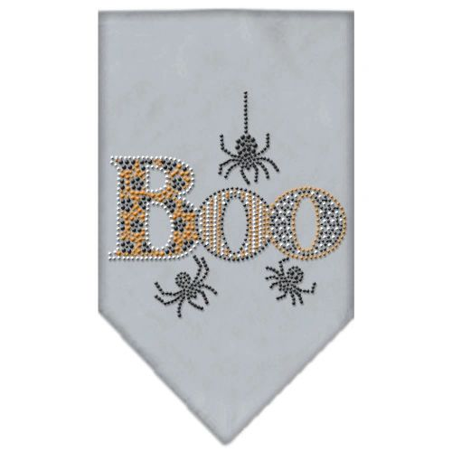 Dog Bandanas: Halloween Rhinestone BOO Dog Bandanas Sizes - Small or Large in Different Colors by MiragePetProducts Made in USA