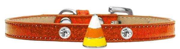 DOG COLLARS: Halloween Ice Cream Charm Dog Collar in Different Designs by Mirage Made in USA