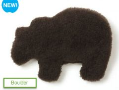 DOG TOYS: Gallatin Grizzly Shape Dog Snuggly, Sturdy Handcrafted Toy Washable USA