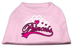 Dog Shirts: I'M A PRINCESS Screen Print Dog Shirt in Various Colors & Sizes by Mirage