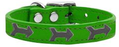 Dog Collars: Cool Dog Collars with Cute ARROW Widgets Genuine Leather Dog Collar in Different Colors and Sizes by Mirage USA