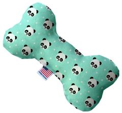 PET TOYS: Soft Durable Fabric or Canvas Bone Shape Pet Toy in 3 Sizes Made in USA by MiragePetProducts - HAPPY PANDAS