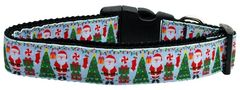 Holiday Nylon Dog Collars: Nylon Ribbon Collar by Mirage Pet Products - AQUA SANTA USA