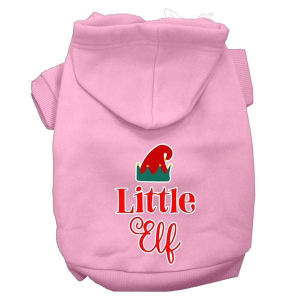 Dog Hoodies: LITTLE ELF Screen Print Dog Hoodie in Various Colors & Sizes by Mirage