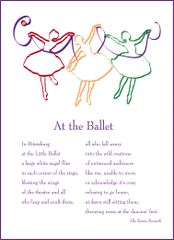 At the Ballet - Full-page Art Piece