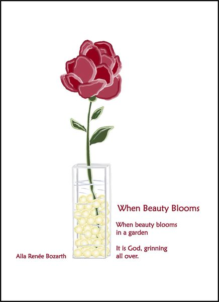 When Beauty Blooms - Full-page Artwork