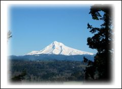 Mt. Hood Oregon from Jonsrud Viewpoint
