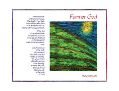 Farmer God - Full Page