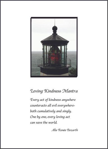 Loving Kindness Mantra Soul Card