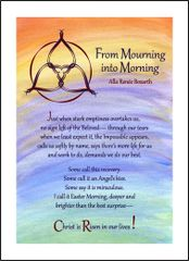 From Mourning into Morning - Soul Card