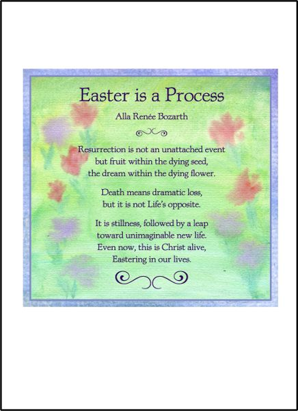 Easter is a Process - Soul Card