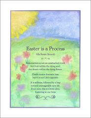 Easter is a Process - Full-page Artwork