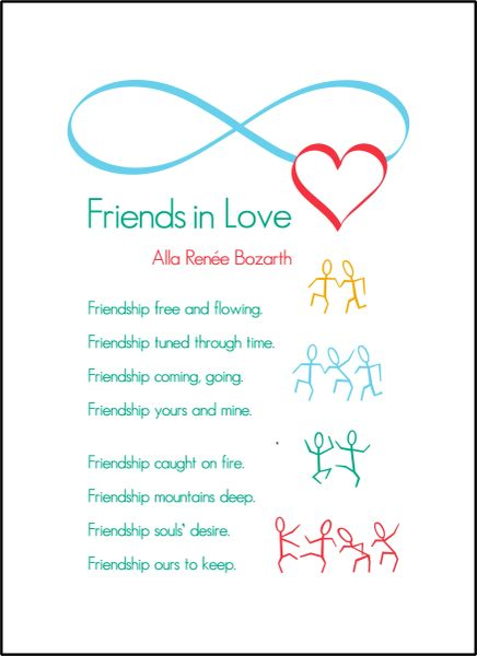 Friends in Love - Soul Card