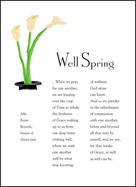 Well Spring Soul Card