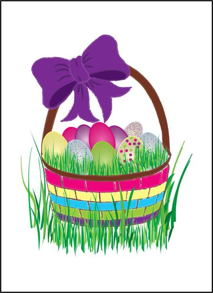Easter Basket Greetings - Soul Card