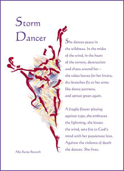 Storm Dancer Soul Card