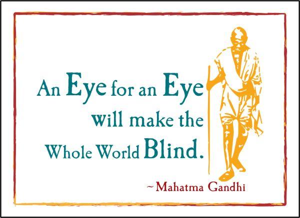 Gandhi - An Eye for an Eye
