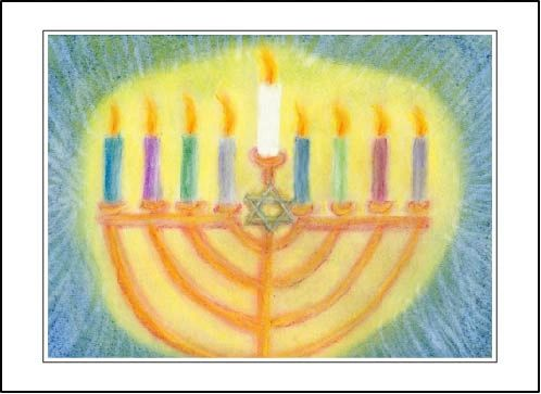 Hanukkah Sameach Soul Card