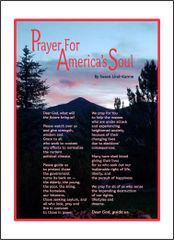 Prayer for America's Soul - Idaho Mountain