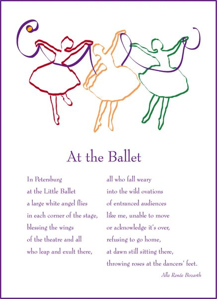 At the Ballet - Soul Card