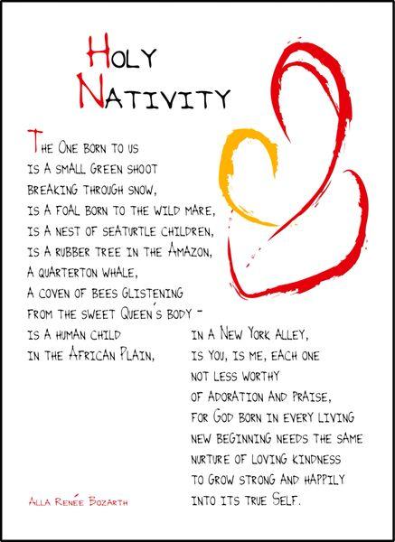 Holy Nativity Soul Card