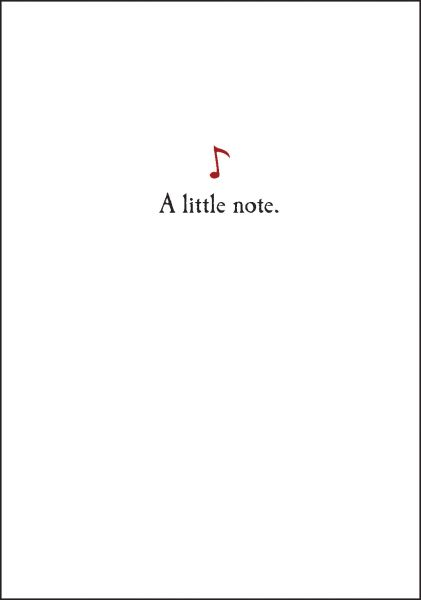 A Little Note - Note Cards