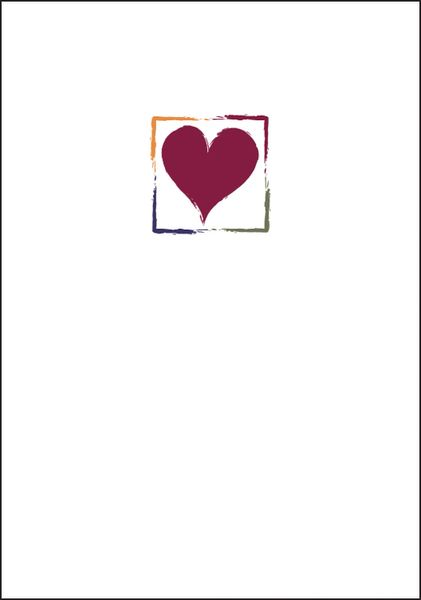 Heart for Mom Note Cards
