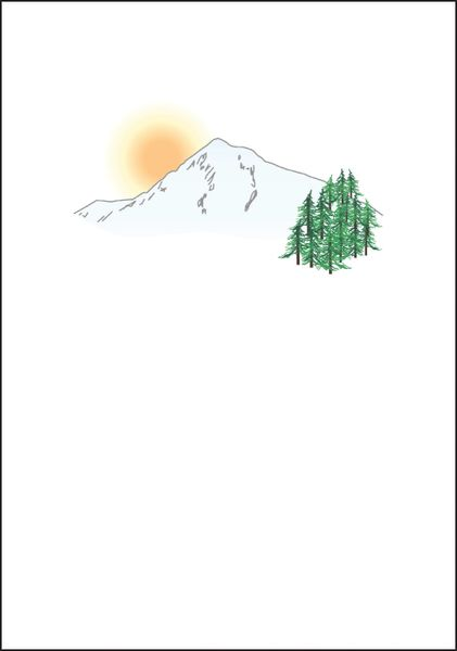 Mt. Hood Note Cards