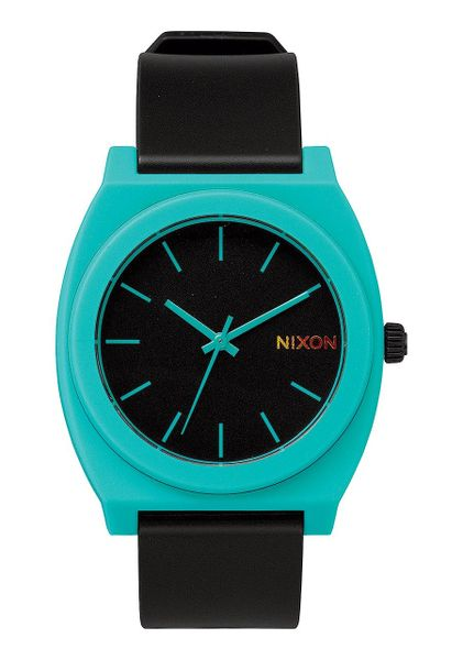 Time Teller P Black/Teal