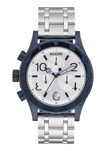 38-20 Chrono Navy/Silver