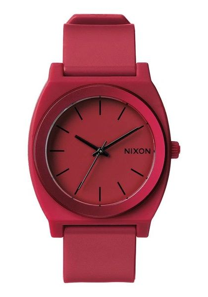 Time Teller P Dark Red Ano