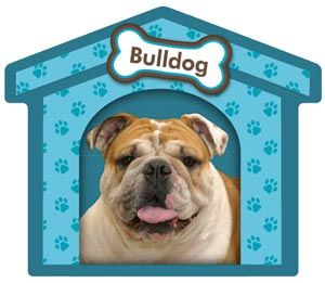 Bulldog Doghouse Magnet !! SALE !!