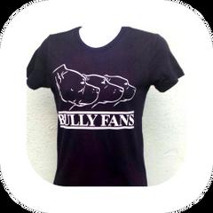 Bully Fans Logo LADIES T-shirt - BLACK