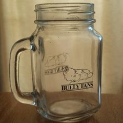 Bully Fans Mason Jar with Handle & Lid - QTY 4