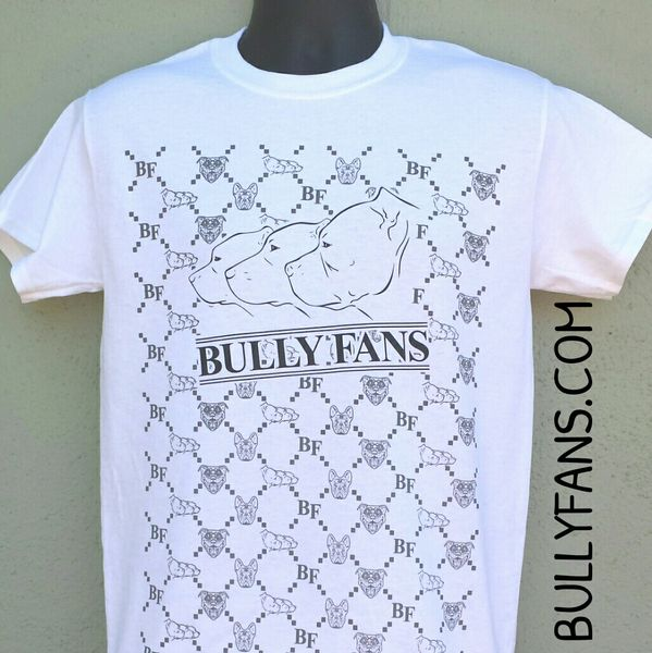 Bully Fans Gucci Style Logo T-shirt - WHITE
